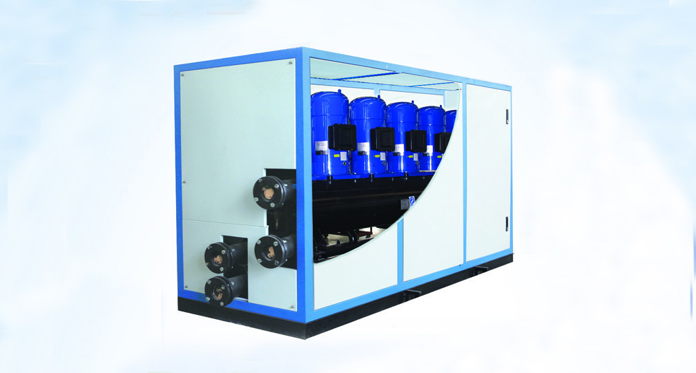 高效版式蒸发、冷凝水源热泵