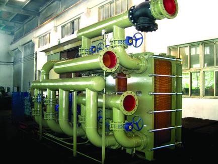 新型铜制合金板式换热器系列