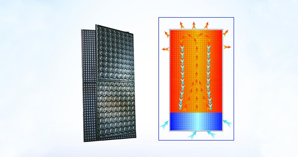 超導納米傳熱版裝置
